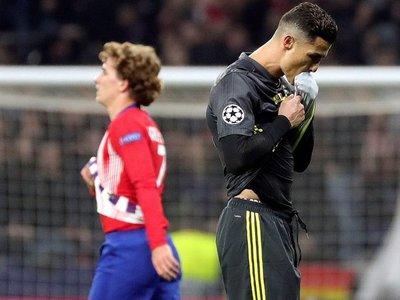 Picante frase de CR7 tras la derrota ante Atlético