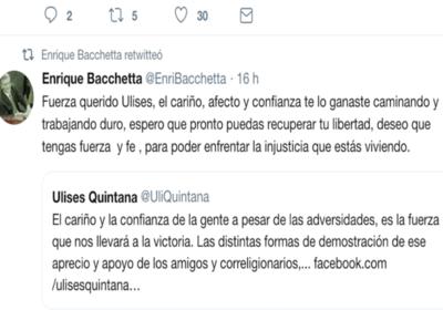 Dura reacción genera mensaje de titular del JEM sobre Quintana