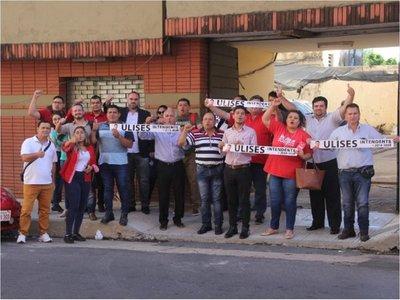 Ulises Quintana es recluso y precandidato a intendente de CDE