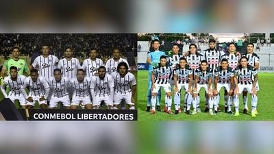Libertad y Santaní juegan por copas internacionales