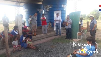 Técnicos del MAG capacitan a productores sobre cultivo de cebolla en el Chaco