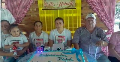 Recuerdan cumpleaños de Felix Urbieta