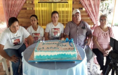 Familiares de Félix Urbieta piden una prueba de vida en el día de su cumpleaños