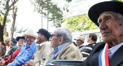 Veteranos de la Guerra del Chaco cobran hoy pensión y subsidio