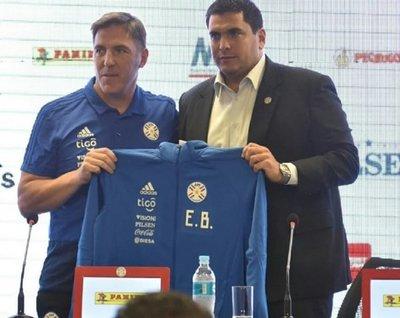 Eduardo Berizzo, presentado como nuevo seleccionador de Paraguay