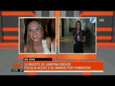 Caso Sabryna Breuer: defensa presenta nuevo incidente