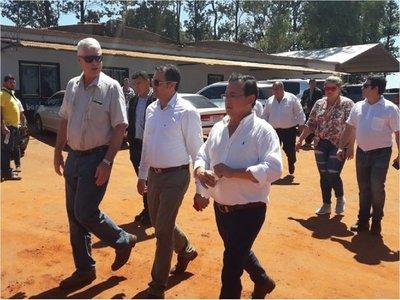 Inician construcción de asfaltado en Cruce Tacuatí