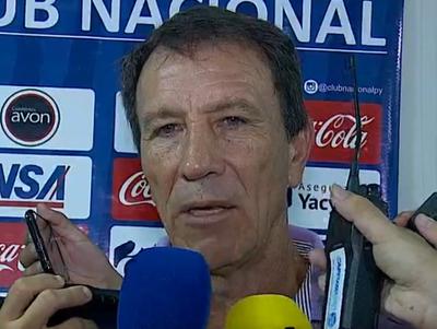 Hugo Caballero dijo que Nacional mereció ganar