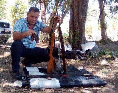 Detienen a cazador furtivo en el Área Silvestre Protegida del Ypoá