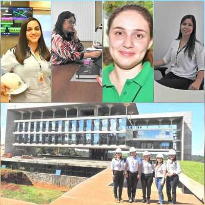 ITAIPU se ilumina con la energía de las mujeres paraguayas