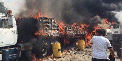 Venezuela: Camiones estaban vacíos, según el Gobierno