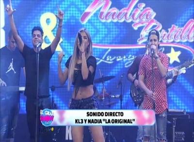 """Nadia Portillo volvió a cantar sus """"clásicos"""" en """"El Gran Show de latele"""""""