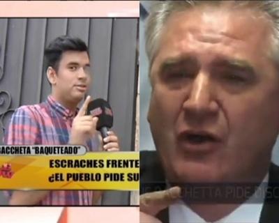 """En enlace de """"TeleShow"""" que hizo llorar a Bachetta"""