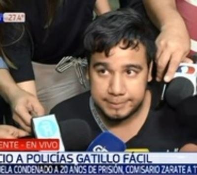 """Richard Pereira: """"Se hizo justicia, me siento satisfecho"""""""