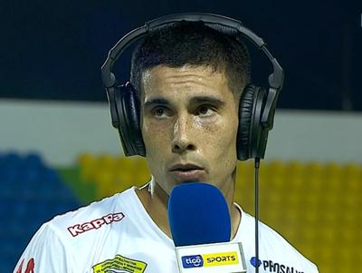 Sebastián Fernández se destacó en el equipo de San Lorenzo