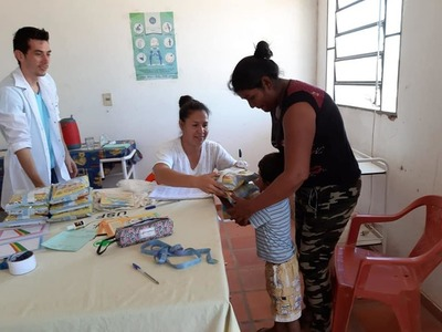 Comunidad chaqueña a 650 kilómetros de Asunción recibe 1.200 kilos de leche