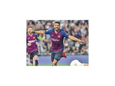 El Pistolero Suárez ajustició al Madrid
