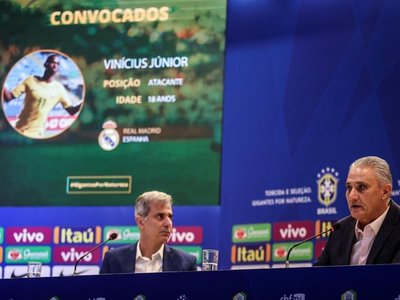 Tite convoca a Vinicius Junior para amistosos preparatorios para Copa América