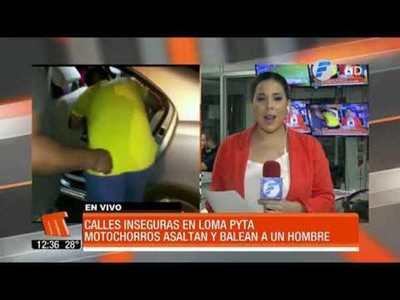 Calles inseguras en Loma Pyta