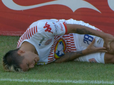 Así fue la lesión de Gustavo Viera
