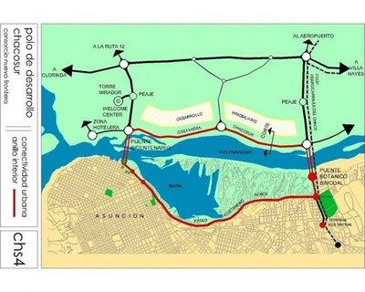 Proyectan segundo puente sobre el río Paraguay