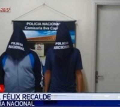 Caen sospechosos de asesinato con derivación fatal en Capiatá