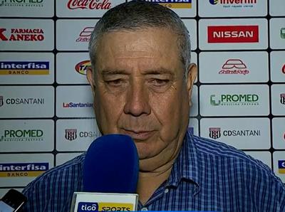 Carlos Jara Saguier valora el sacrificio de su equipo