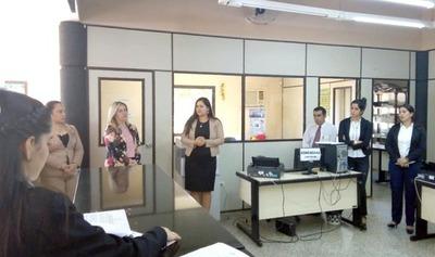 Consejo de Caazapá visitó juzgados de Yuty