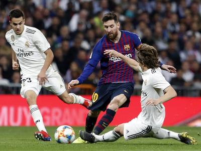 Real Madrid vs. Barcelona paraliza a La Liga