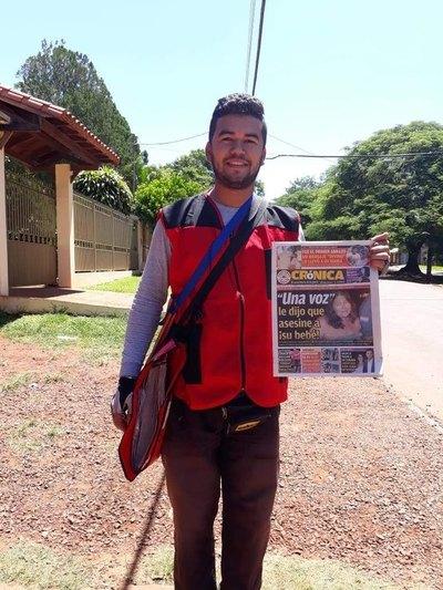 Diario vendeha ya es todo un  licenciado en Criminalística