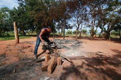 Indígenas denuncian incendio de cultivos y viviendas en Itakyry