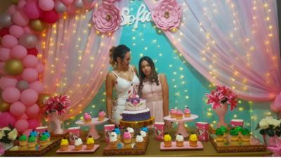 Ruth Alcaraz Celebró Los 14 Años De Su Hija