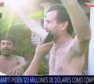 Procuraduría confirma que Arrom y Martí exigen USD 123 millones