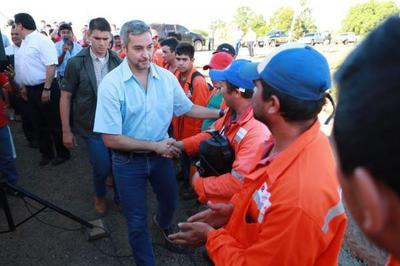 Más de 10.000 productores rurales se benefician con asfaltado del tramo Coronel Oviedo- La Pastora
