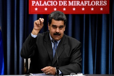 """Maduro convoca a una marcha """"antiimperialista"""" también para el sábado 9"""