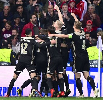El Ajax fulmina al Real Madrid y habrá nuevo campeón