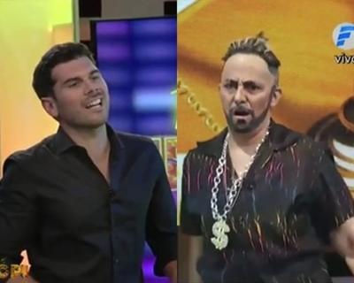 """Carlos Viveros y """"El Churero""""  en """"Telembopi"""""""