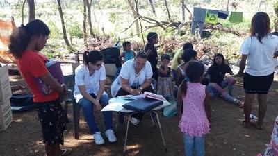 Familias indígenas del vertedero de CDE recibieron atención médica