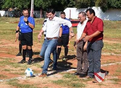 Se abrió el telón del torneo ascenso del fútbol local