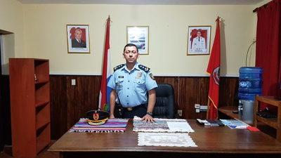 Nuevo Jefe de la Comisaria 1ra de San Lorenzo