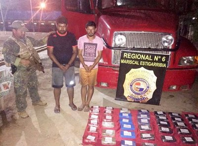 Requisan 50 kilos de cocaína en el Chaco