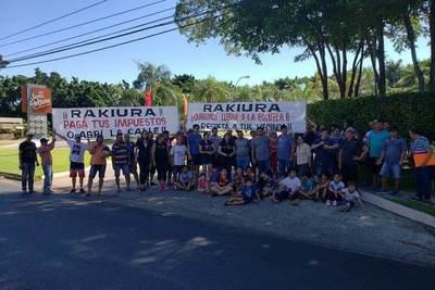Cierre de accesos: directivo dice que Rakiura hace uso de sus derechos