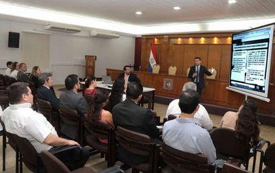 Capacitan sobre expediente judicial electrónico en el TSJE