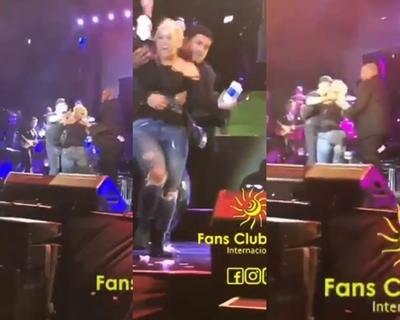 Fan de Luis Miguel logró subir al escenario