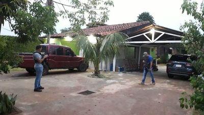 """Capturan """"lavadores"""" de dinero de Cabeza Branca en Coronel Oviedo"""