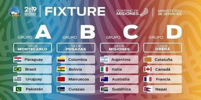 Paraguay en la serie A del Mundial de Futsal Misiones, Argentina 2019