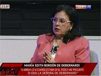María Edith califica de teatro testimonio de Arrom ante la Corte-IDH