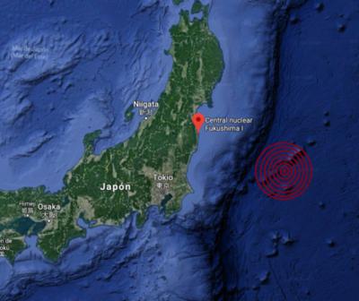 Terremoto de 5.1 sacude a Japón