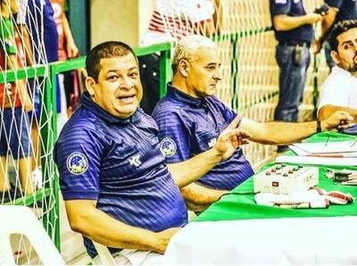 Milton Molinas arbitrará en el Mundial de fútbol de salón