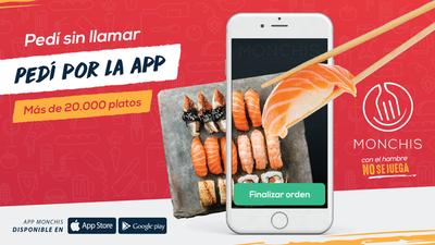 App nacional de comidas revolucionó compra online